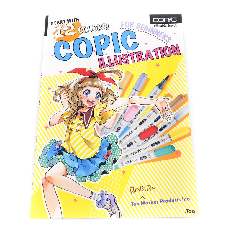 Copic Illustration for Beginners (Englisch) - J-Store Online
