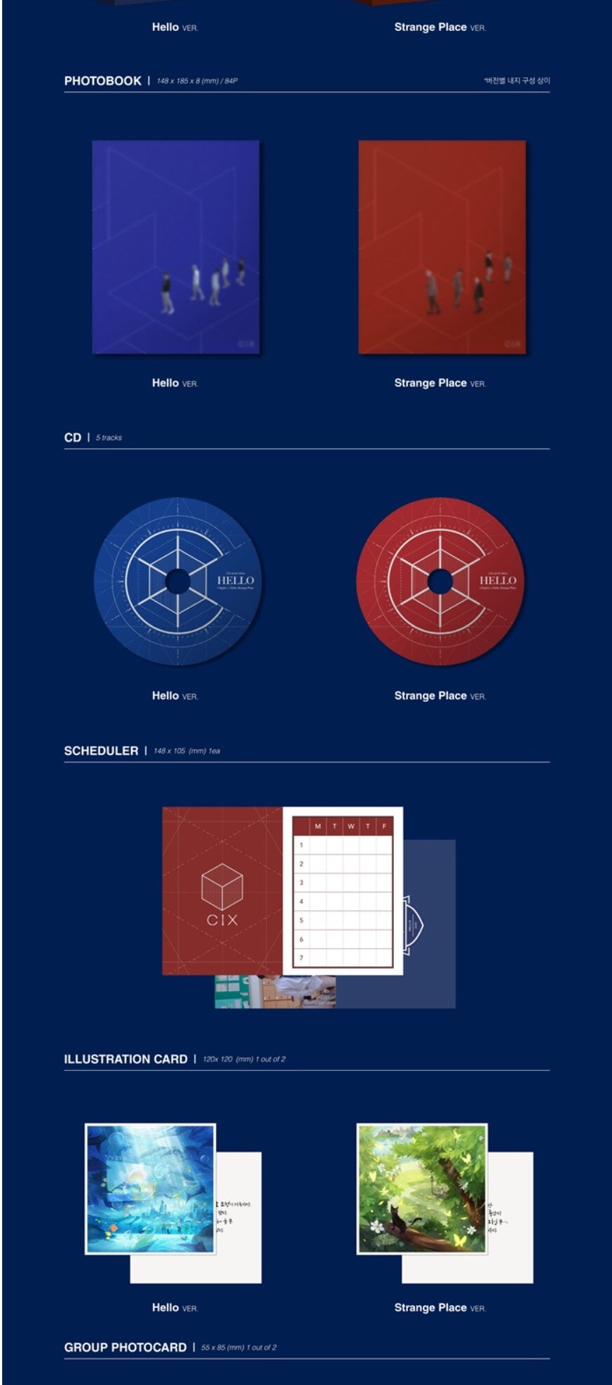 CIX - Hello Chapter 2: Hello, Strange Place – Pre–order