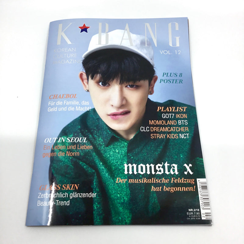 K-BANG Vol. 12 - Nr. 02/2018 - Monsta X (Variant)