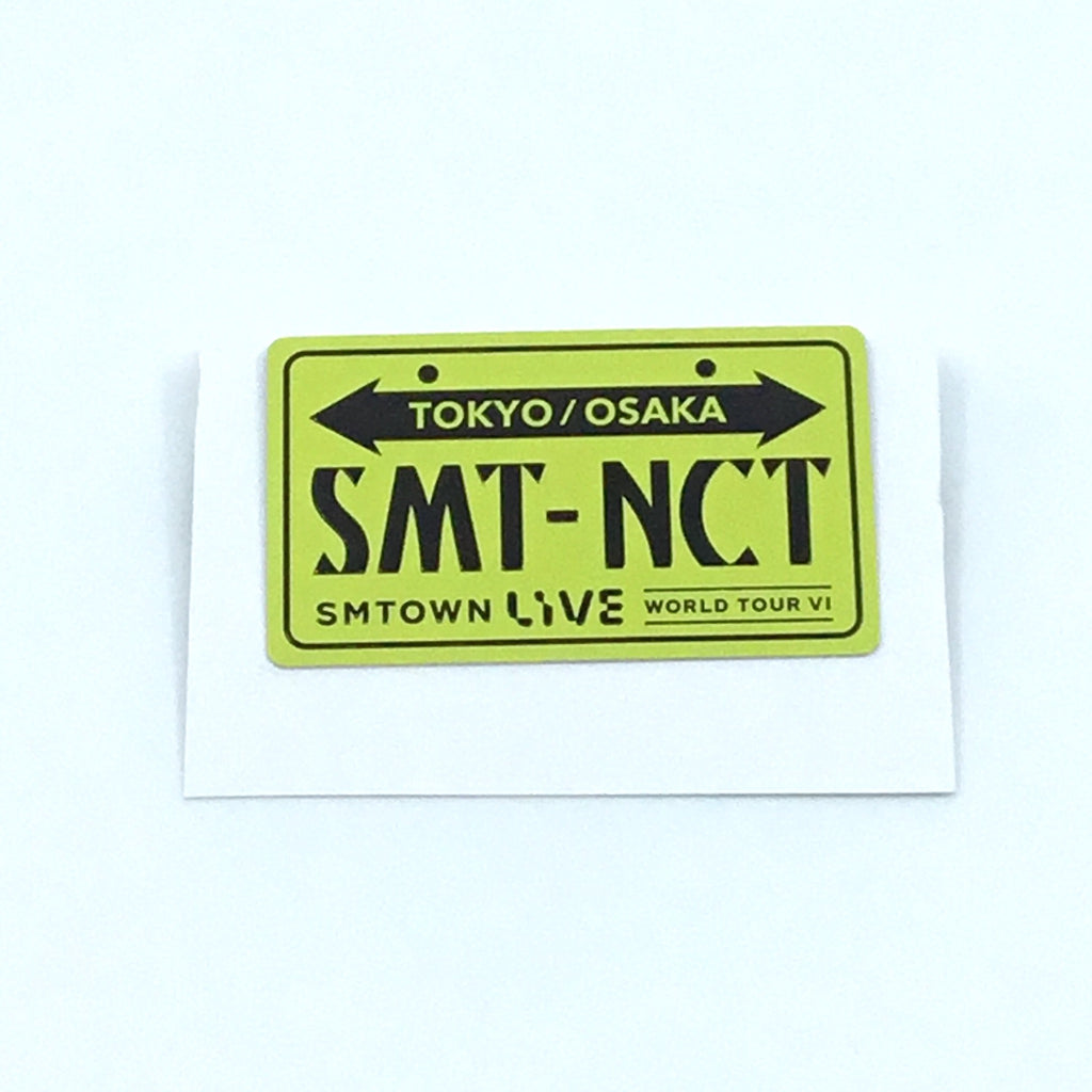 NCT Button - SM Town Live World Tour 6 Official Goods
