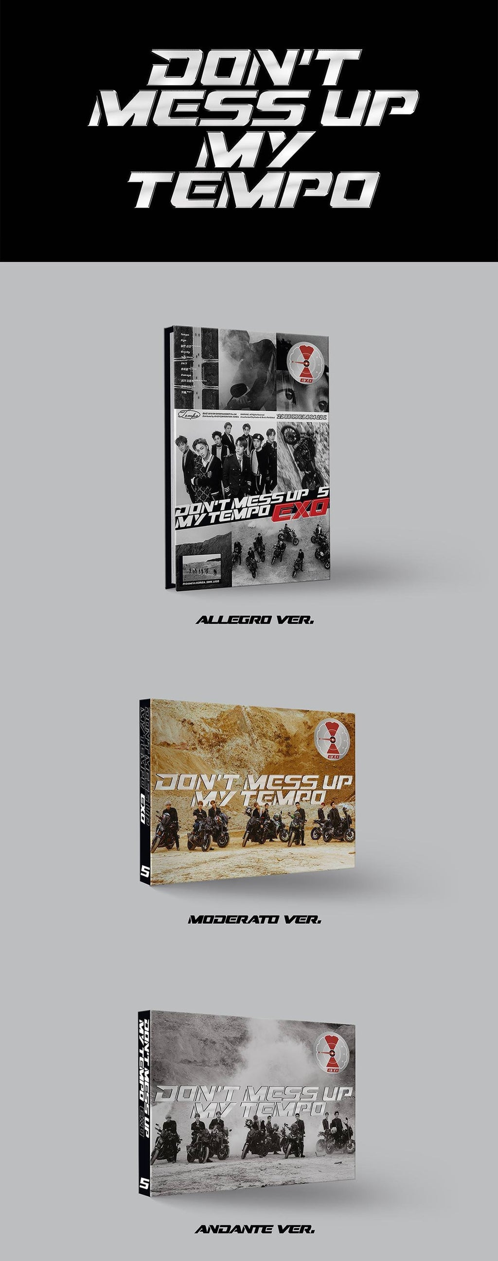 EXO - Don't Mess Up My Tempo - Vol.5 - jetzt lieferbar