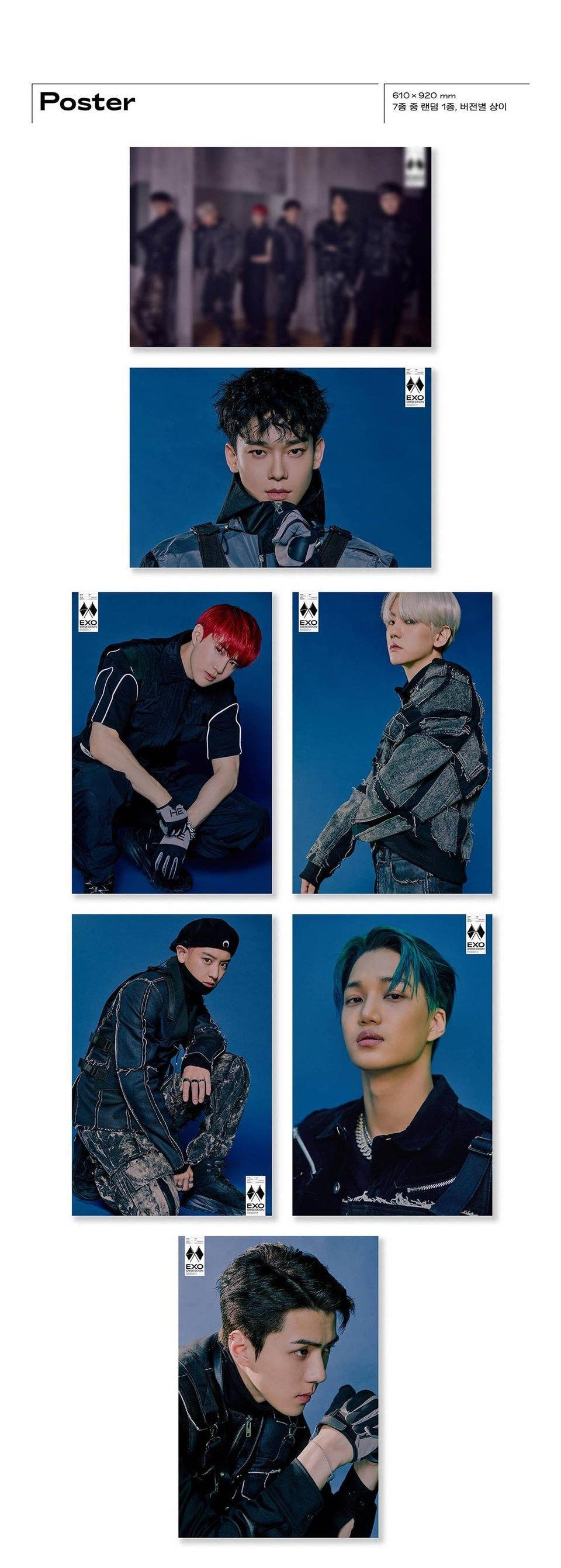 EXO - Obsession - Vol.6/Obsession Version - Pre-Order