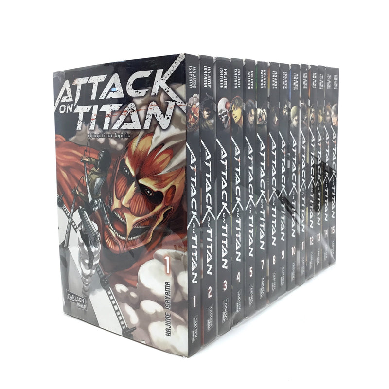 Attack On Titan 1 - 15