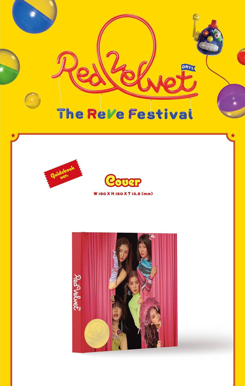 Red Velvet - The ReVe Festival - Guide Book Version - Pre-Order