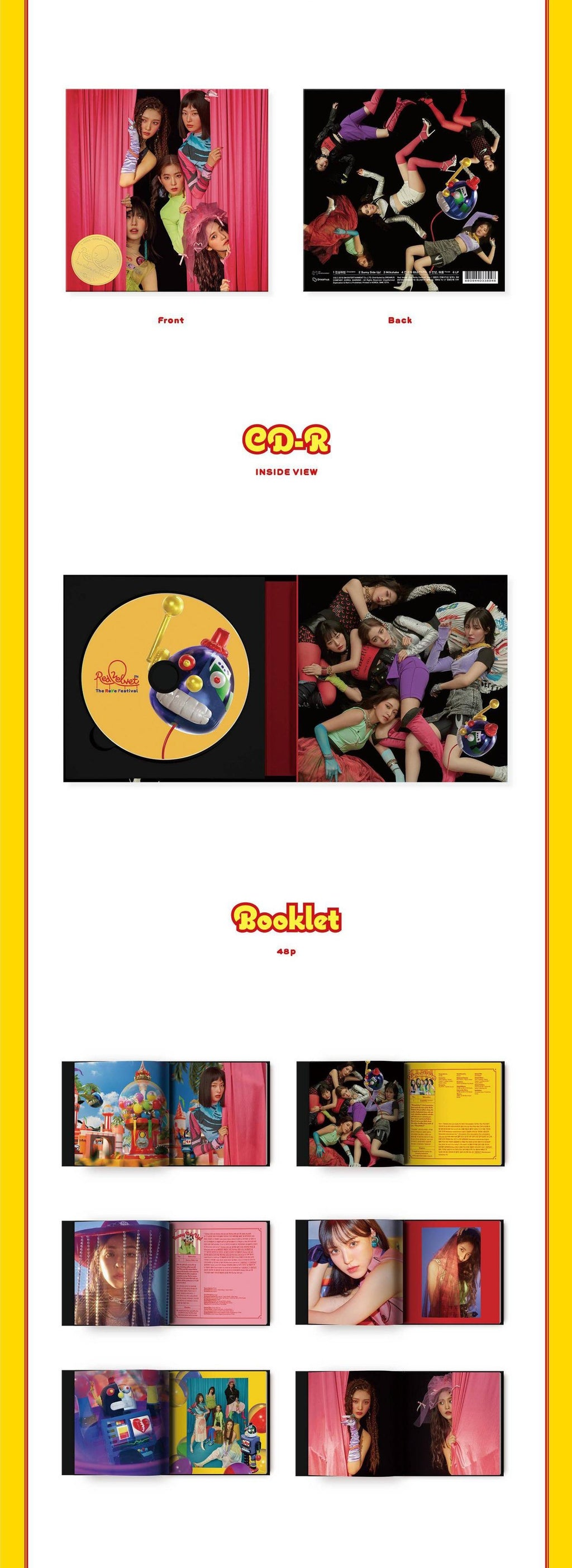 Red Velvet - The ReVe Festival - day1 - Guide Book Version - J-Store Online