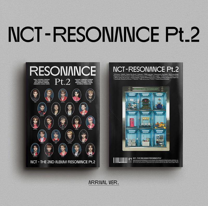 NCT - The 2nd Album RESONANCE Pt.2 - Arrival Ver. (Black)