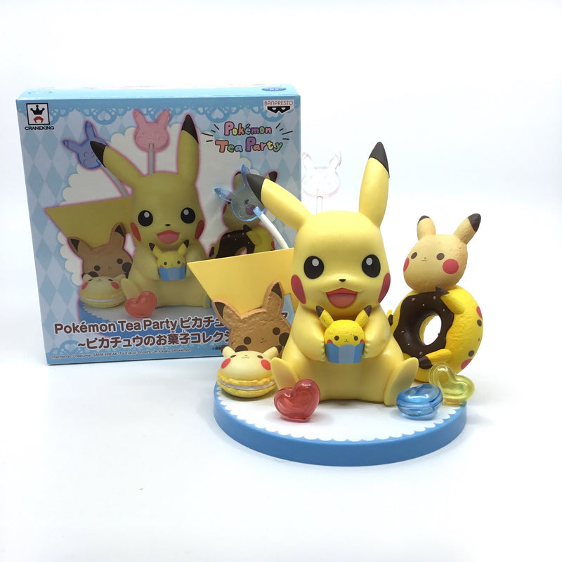 Pokémon Tea Party Pikachu Figur