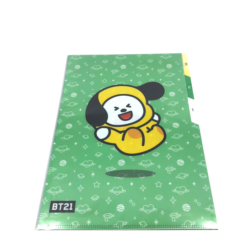 BT21 - 3 Pocket Document Folder A4 (CHIMMY)