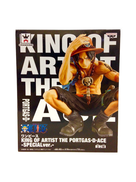 One Piece - Portgas D. Ace-  King of Artist - Figur