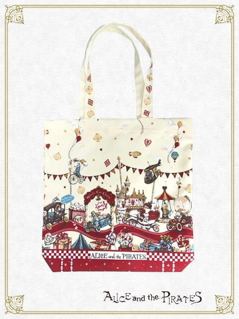 ALICE AND THE PIRATES - Alice Wonder Car Chase Tote Bag