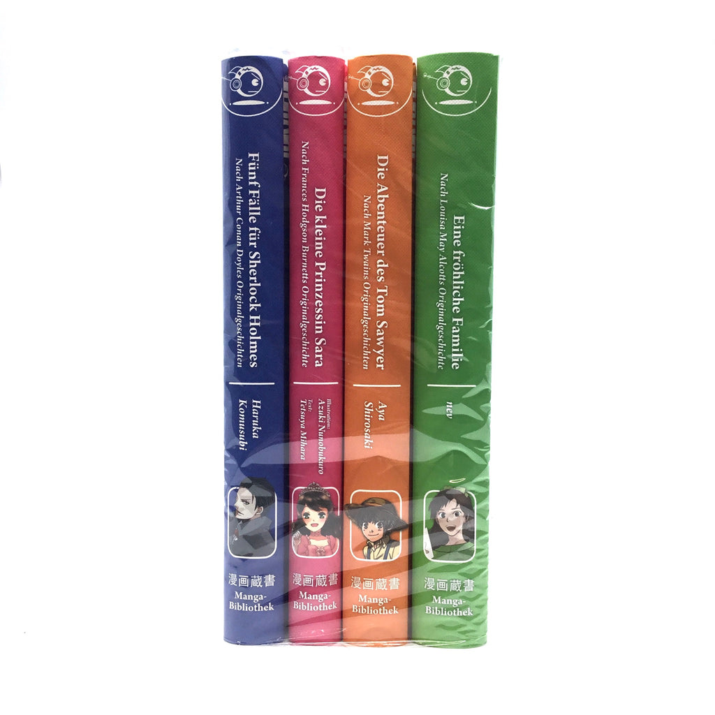 Manga Bibliothek Collection 1-4 (komplett)