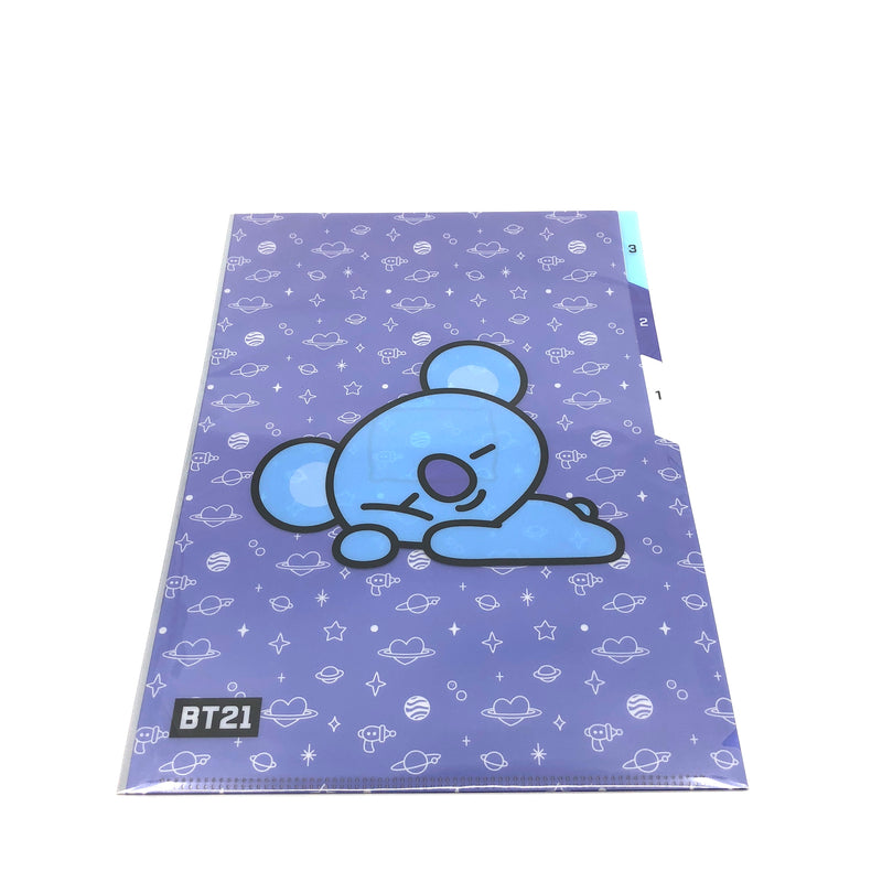 BT21 - 3 Pocket Document Folder A4 (KOYA)