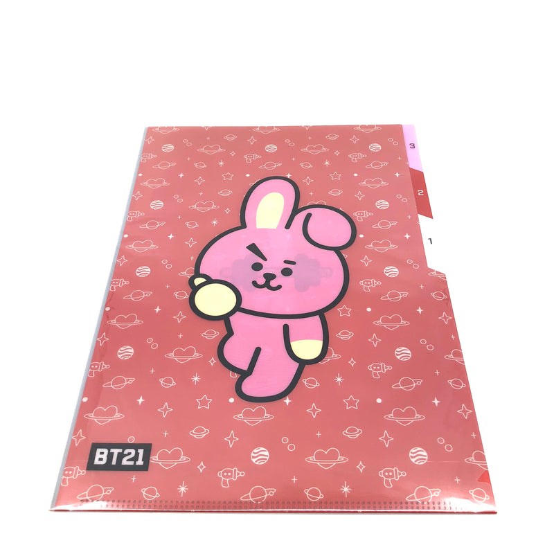 BT21 - 3 Pocket Document Folder A4 (COOKY)