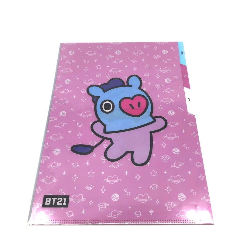 BT21 - 3 Pocket Document Folder A4 (MANG)