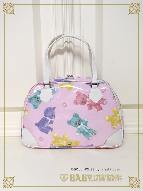 BABY THE STARS SHINE BRIGHT Dancing Baby Bear  Boston Bag