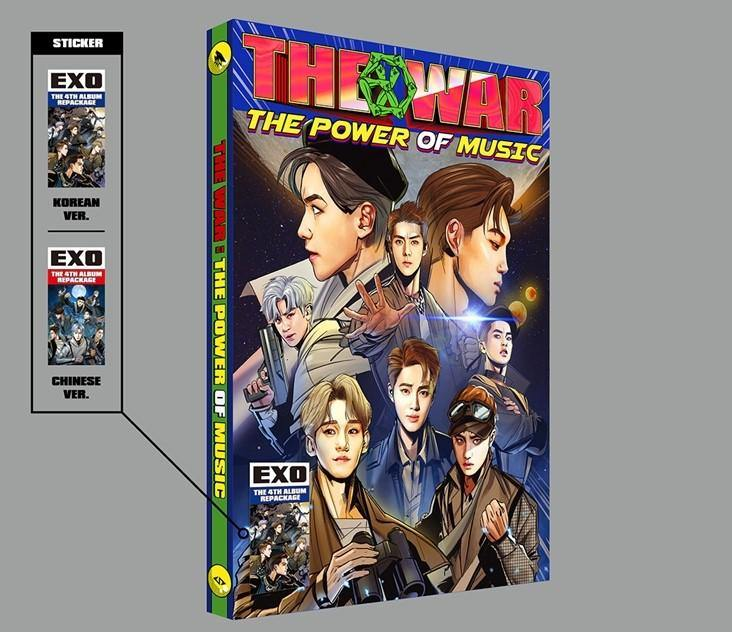 EXO - THE WAR: THE POWER OF MUSIC] (KOREAN VER.)