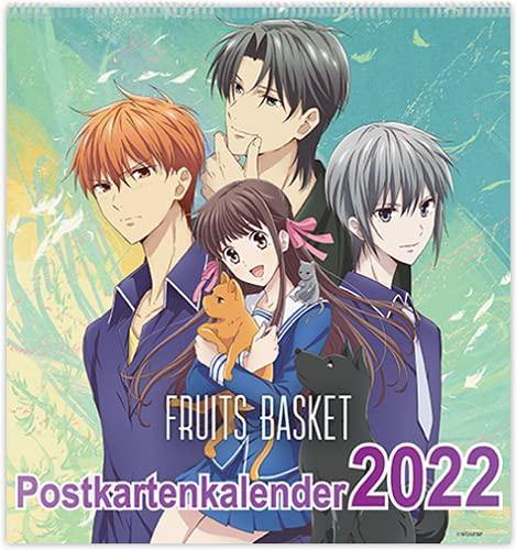 Fruits Basket Postkartenkalender 2022