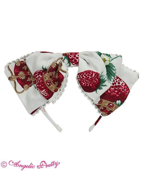 ANGELIC PRETTY - Royal Crown Berry Head Bow