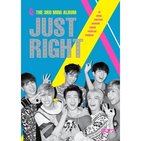 GOT7 - Just Right - 3rd Mini Album