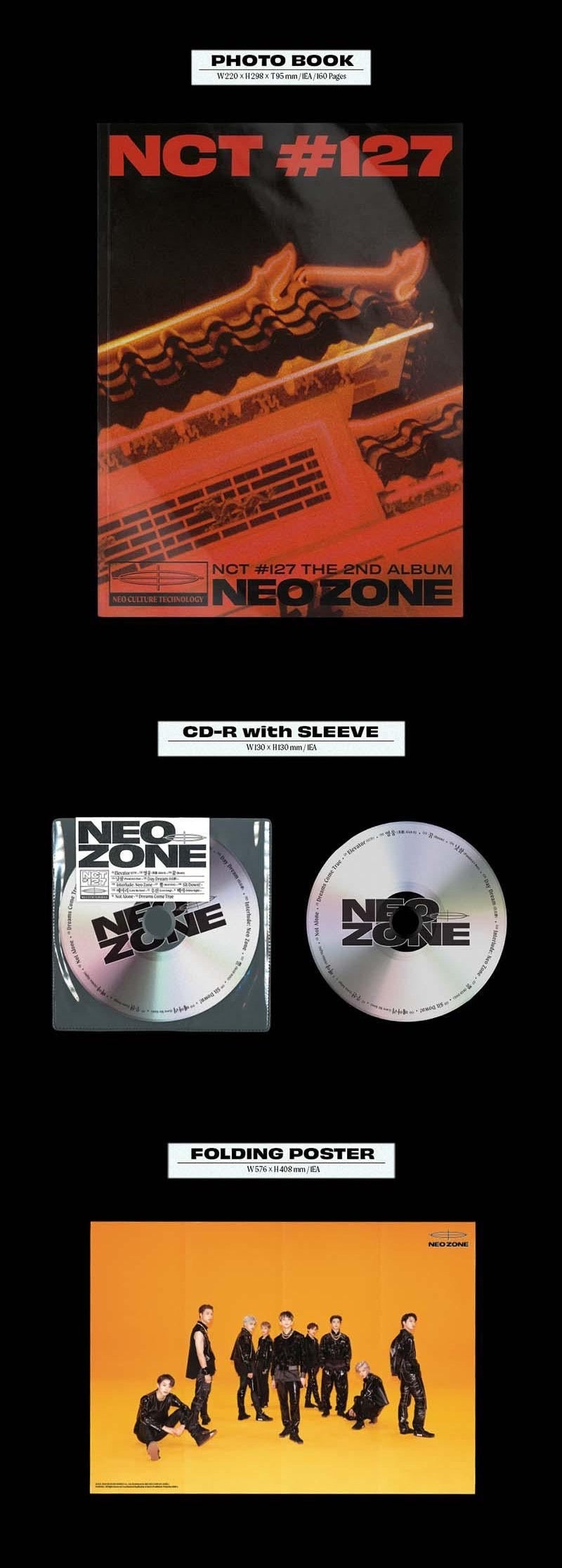 NCT 127 - NEO ZONE (T Version) - J-Store Online