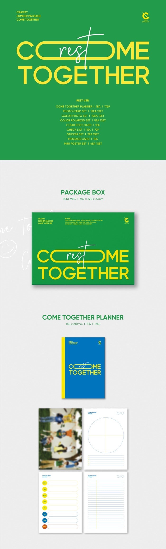 Cravity - Summer Package - Come Together - Rest Version - Pre-Order - J-Store Online