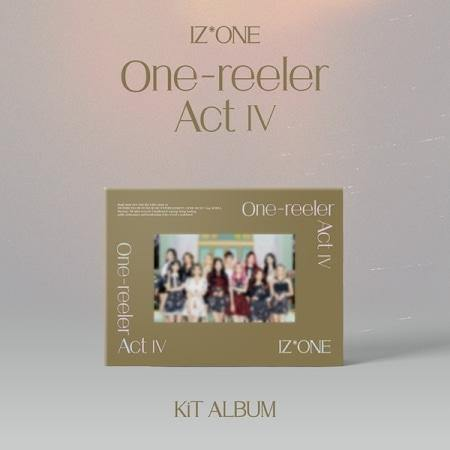 IZ*ONE - ONE-REELER / ACT Ⅳ (4TH MINI ALBUM) - KIT Album - Pre-Order