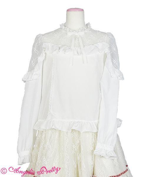 ANGELIC PRETTY - Lacy Frill  Bluse