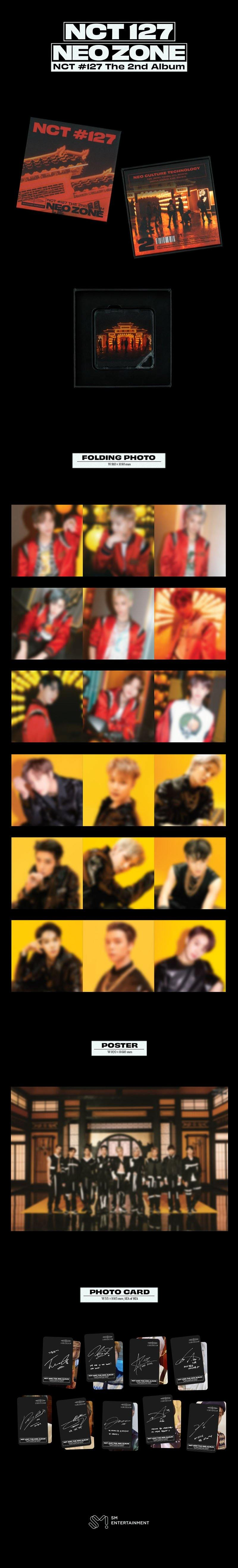 NCT 127- Neo Zone- Kit Album
