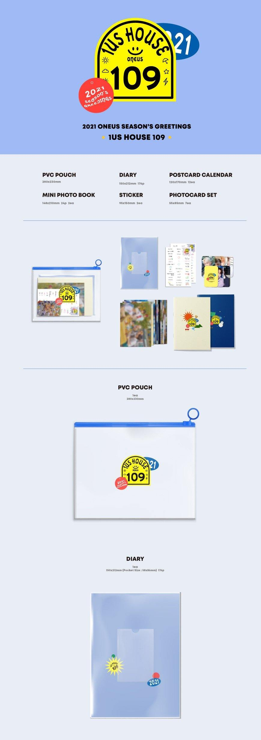 ONEUS- 2021 Season's Greetings - Pre-Order