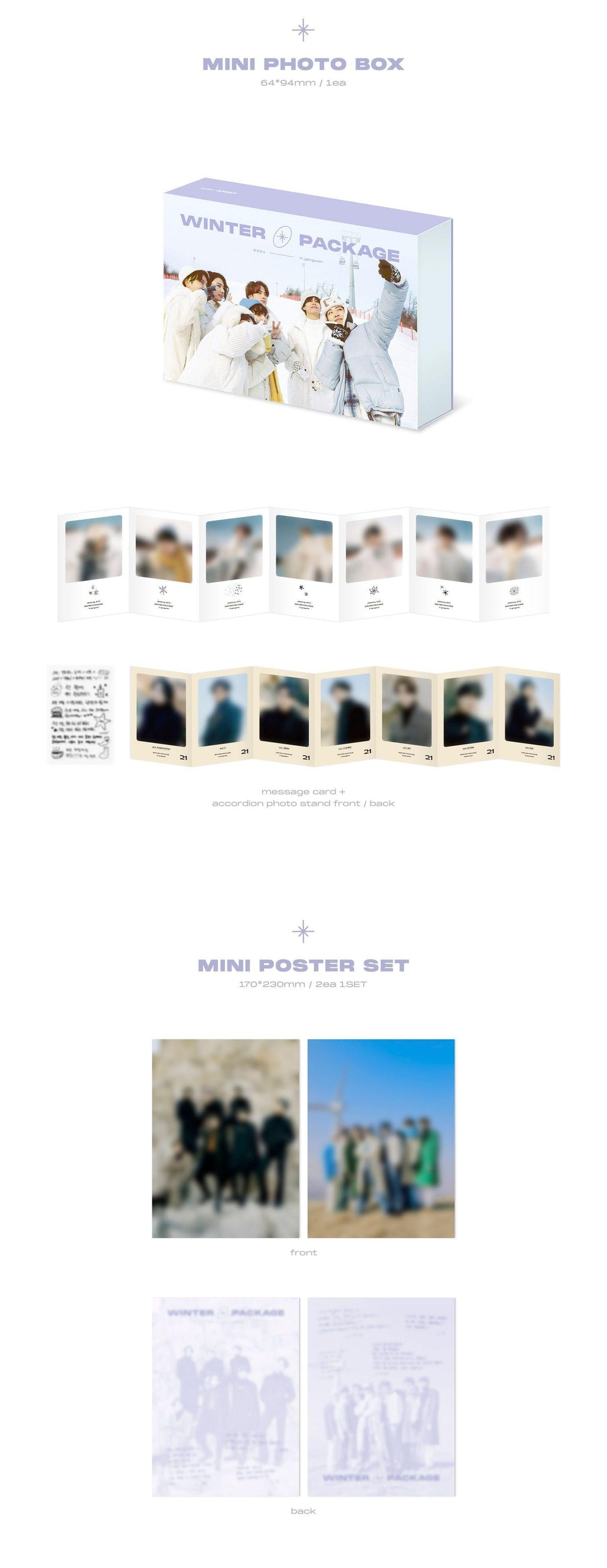 BTS - BTS 2021 Winter Package - Pre-Order