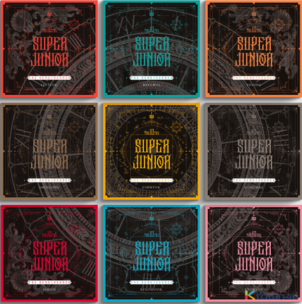 SUPER JUNIOR -  10th Album - The Renaissance - PRE-ORDER