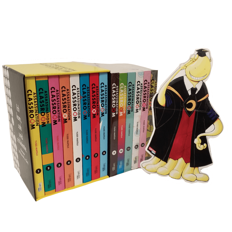 Assassination Classroom 1-14 ink. Sammelschuber mit Aufsteller - J-Store Online