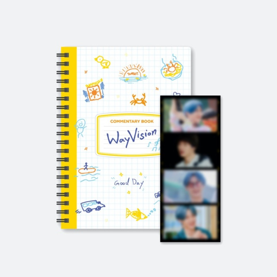 WAYV - Commentary Book + Film SET - Pre Order