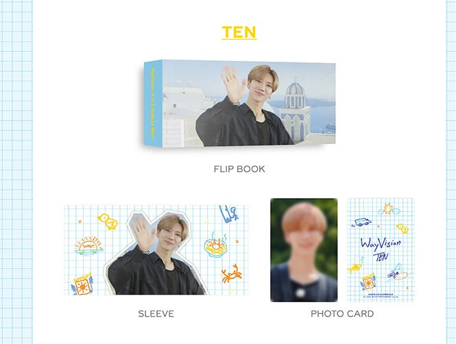 WAYV - Flip Book + Photo Card SET