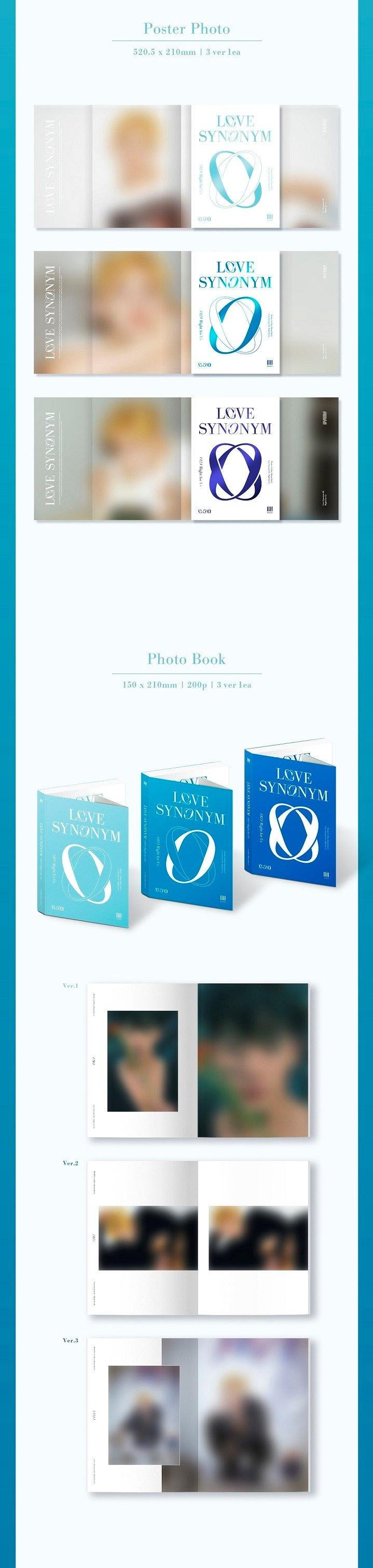 WONHO - LOVE SYNONYM #2 : RIGHT FOR US (1ST MINI ALBUM PART.2 ) - Pre-Order