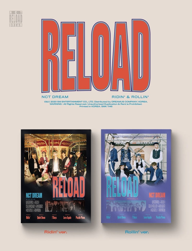 NCT Dream - Reload - J-Store Online