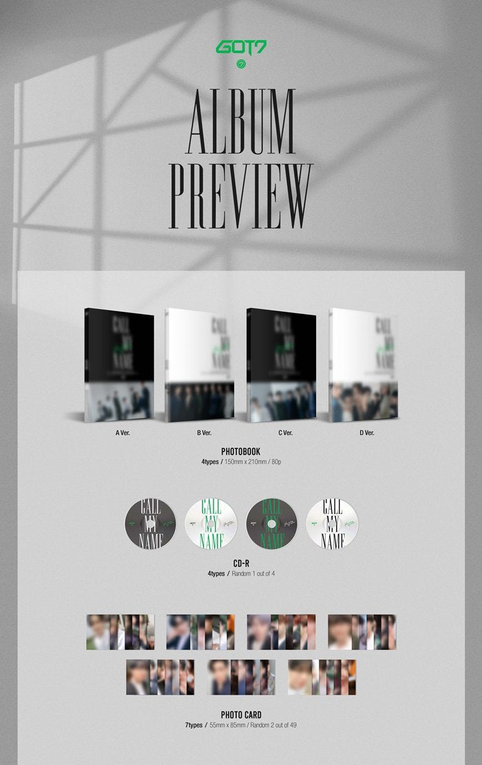 GOT7 - Call My Name - J-Store Online