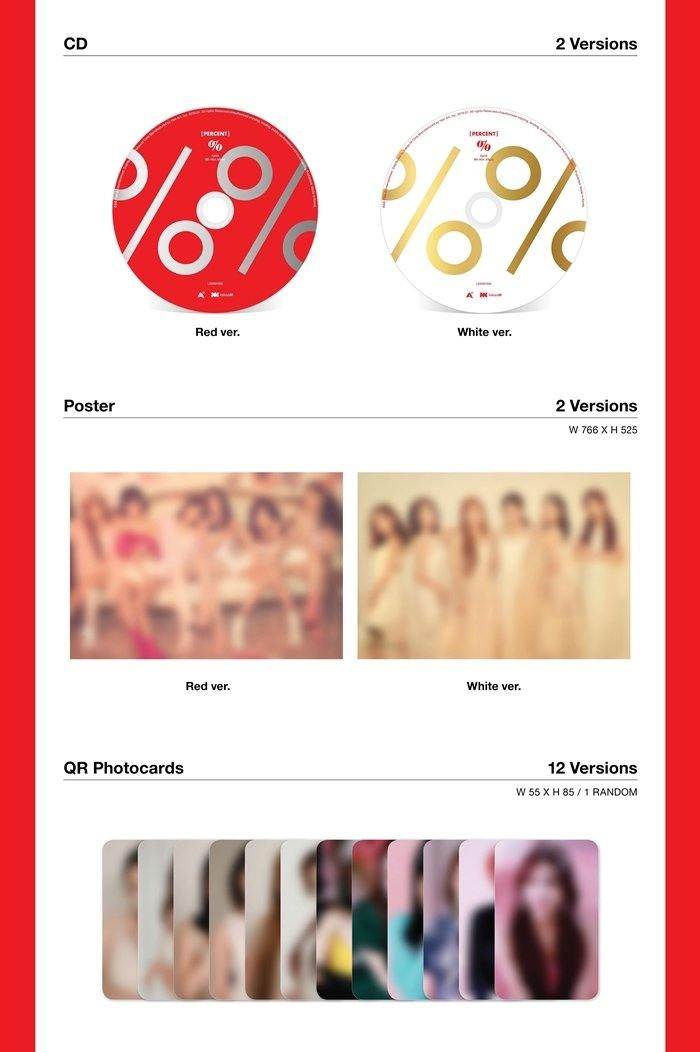 A Pink -Percent (8th Mini Album) - J-Store Online