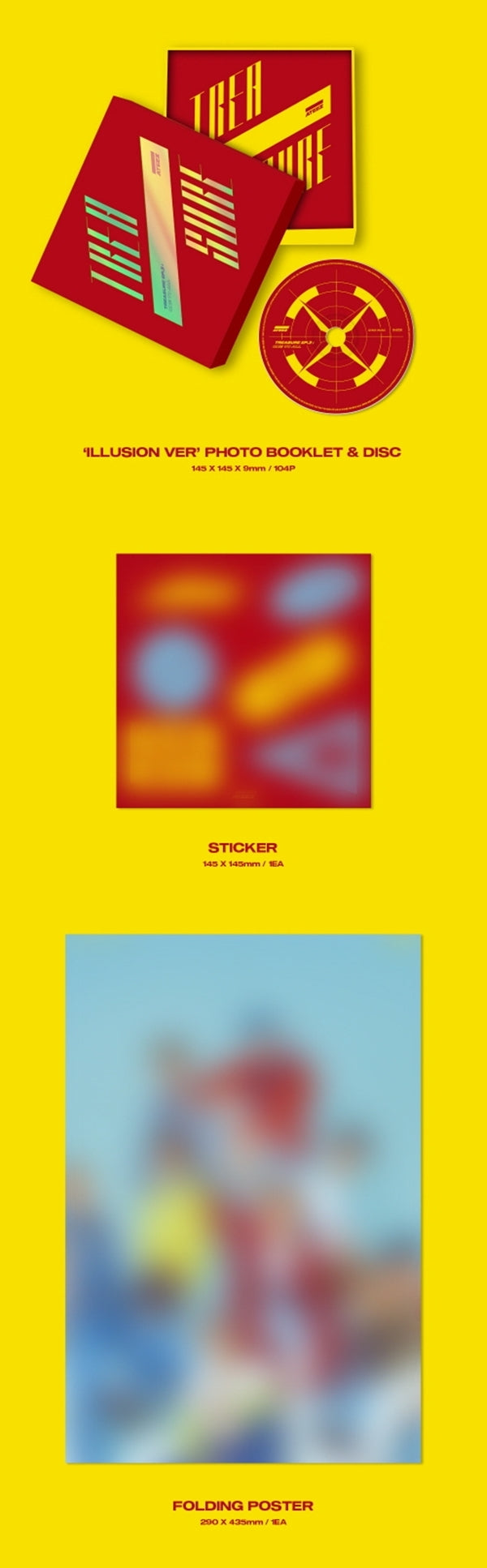 ATEEZ - Treasure Ep.3: One to All - J-Store Online
