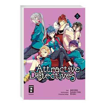 Attractive Detectives - Band 5 - J-Store Online
