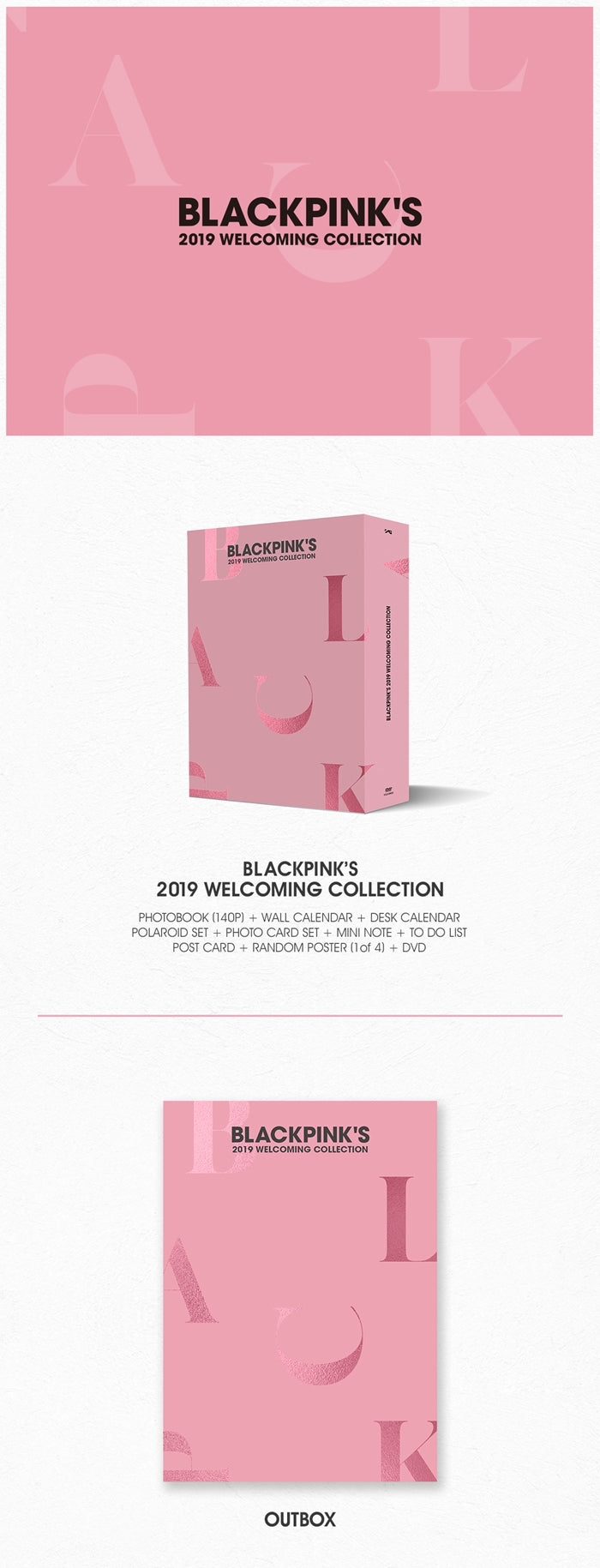Blackpink - Blackpink's 2019 Welcoming Collection - Jetzt lieferbar