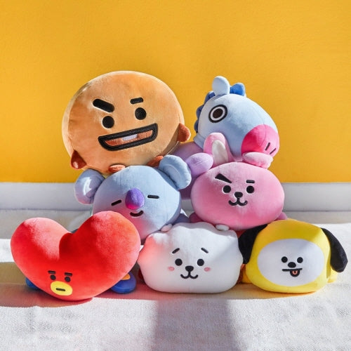 BT21 Soft Mini Pillow Cushion (Koya, Shooky, RJ, Chimmy, Mang) - Pre-Order
