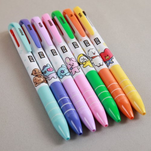 BT21 3 Colors Ballpoint Pen (Alle Charaktere)