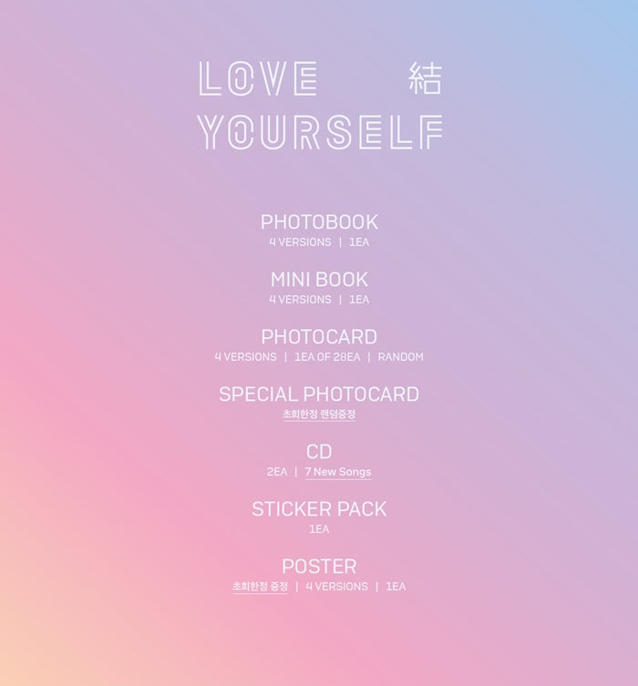 BTS - Love Yourself 'Answer' - jetzt lieferbar!