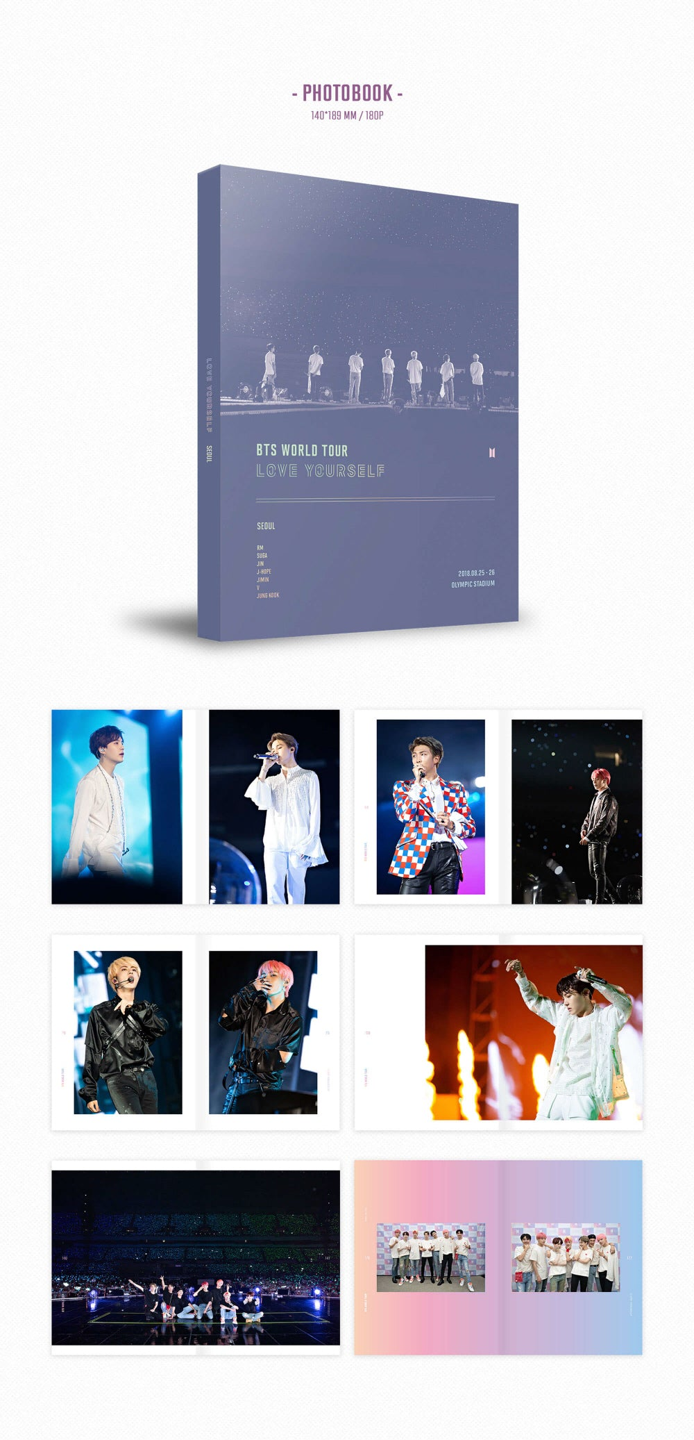 BTS - Love Yourself : Seoul - 3 DVDs - Pre-Order
