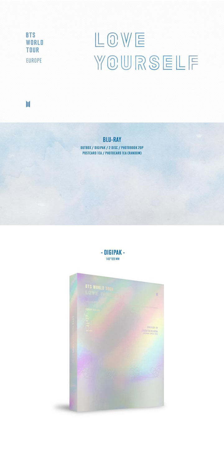 BTS - Love Yourself : Europe - 2 Blu Rays - Pre-Order