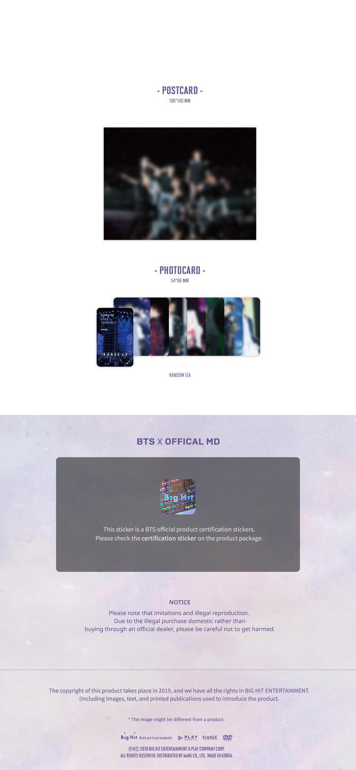 BTS - Love Yourself : New York - 2 Blu Rays - Pre-Order