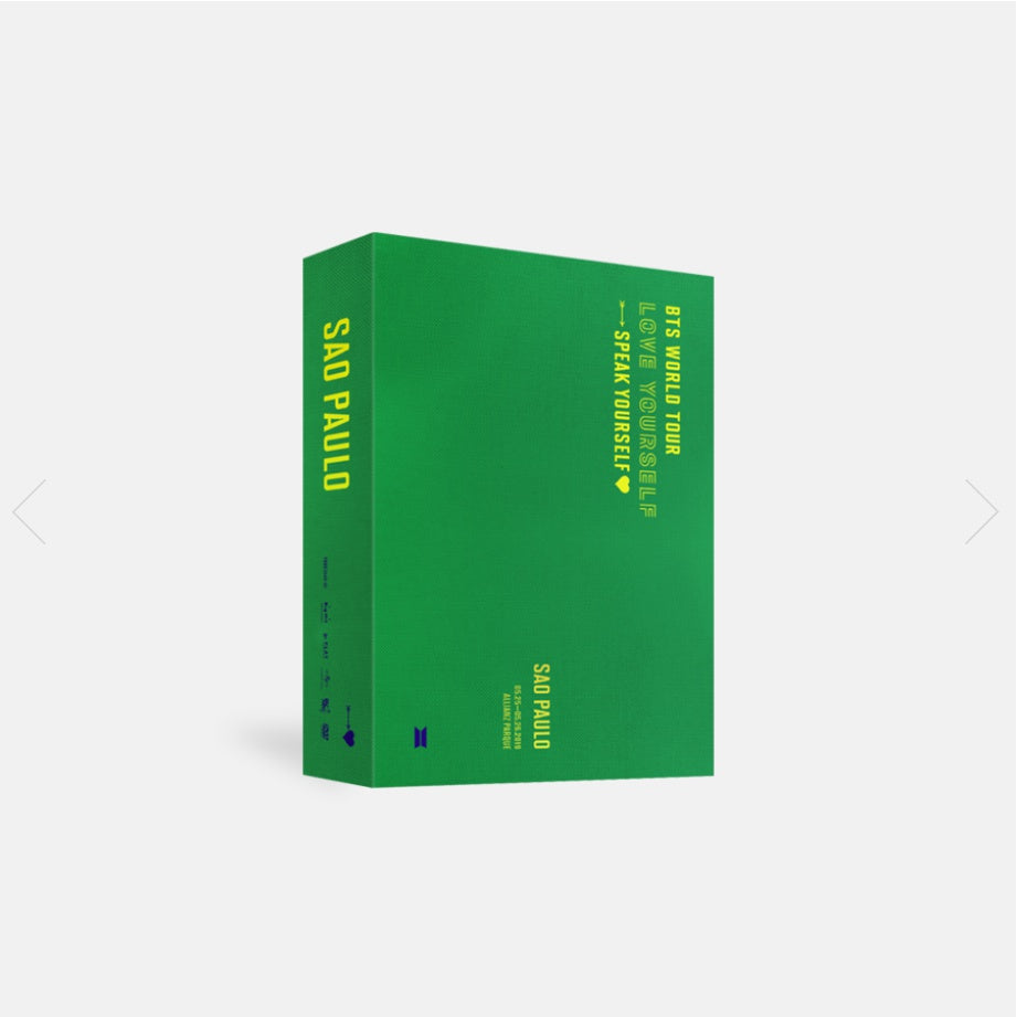 BTS World Tour - Love Yourself: Speak Yourself : Sao Paulo - 2 DVDs - Pre-Order