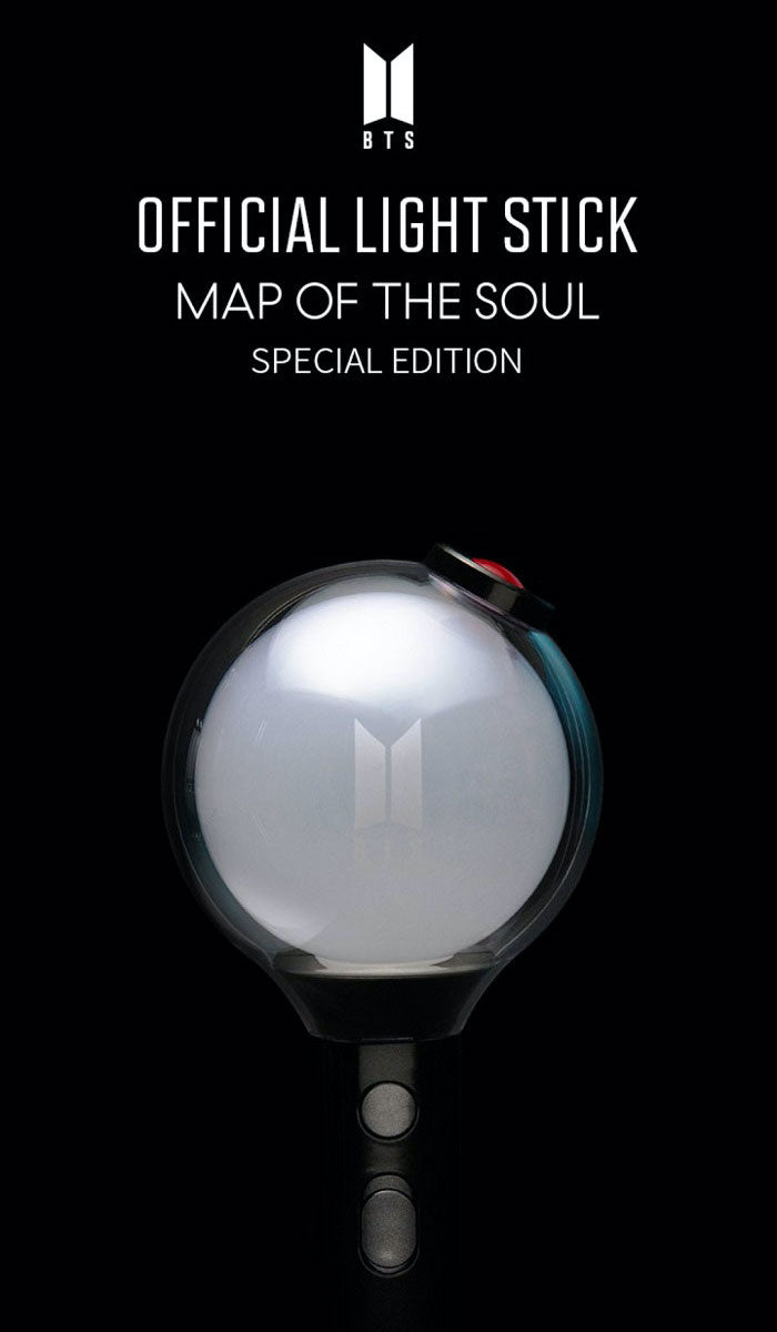 BTS Official Light Stick (Map Of The Soul) - Special Edition - J-Store Online