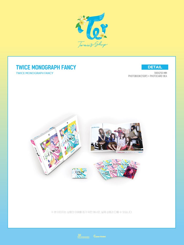 TWICE - Twice Monograph (Fancy) - Limited Edition - J-Store Online